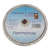 OLShop AG 10er Pack Partylichter/Flammschale Assiette Andreas Licht je ca. 160 x 25 mm Partykerze rund Tischkerze