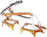Petzl. Leopard FL Ultraleichte Steigeisen mit Flexlock-Bindungssystem für Zustiege auf Schneefeldern, Orange, One Size