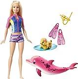 Barbie Mattel FBD63 - Magie der Delfine tierische Freunde