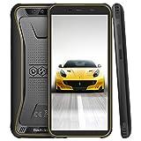 Blackview BV5500 Pro Android 9.0 Pie Outdoor Smartphone, 4G Handy Dual SIM mit IP68 Wasserdicht Stoßfest, 3GB RAM+16GB Speicher, 4400mAh Akku, 5.5 Zoll Display, (NFC/GPS/Face ID) Gelb