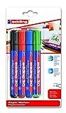 edding 4-30-4-1999 Pigmentmarker 30 Brilliant Paper Marker, 1.5 - 3 mm, sortiert