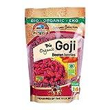 Bio Goji Beeren extra groß 500g Gojis Gojibeeren roh Rohkost, ungeschwefelt und ungesüßt, aus Uzbekistan 0,5 kg