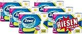 Zewa Wisch und Weg Küchenrollen Reinweiss, saugstarke Wischtücher in hellem Weiß, 6 x 8 Rollen, 6er Pack (48 x 45 Blatt)