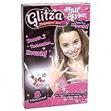Knorrtoys GL7523 - Glitza, Nagel Set, Glitzertattoos für Nägel