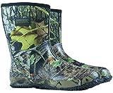 Nitehawk - Neopren-Gummistiefel für Jagd & Angeln - Camouflage-Muster - wadenlang - Größe 40,5