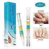 Nail Treatment & Nagelpflege Stift, Nagel Behandlung, 3ML Nagelpflege für gesunde Fuß und Hand 2 Stücke