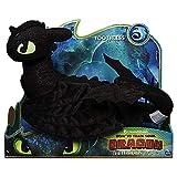 Dragons Ohnezahn Drache | Deluxe Plüsch Figur 36cm | DreamWorks Toothless