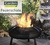 Garden Feelings Feuerschale 75 cm mit Funkenschutz