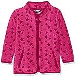 Playshoes Baby-Mädchen Fleecejacke Sterne Jacke, Rosa (Pink 18), 116