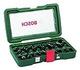 Bosch DIY 15tlg. Fräser-Set HM (Ø 8 mm)