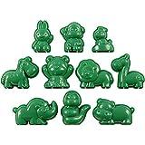 Gießformen, Größe 4-7 cm, Tiere, 10 Stück