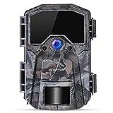 apeman Wildkamera 16MP 1080P Infrarot-Nachtsicht Jagdkamera mit 940nm LEDs, Zeitraffer, Zeitschaltuhr, IP66 Wasserdicht