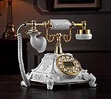HYLH Telefonapparate, altes Telefon kreativer Überblick der europäischen Mode/Telefon/Oberseite/Knopf 25.5x17.5cm x Produkthandy (Farbe: # 2