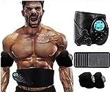 GPC BXH Blinkt Fitnessgeräte Hause Bauchmuskeltrainingsgerät dünnen Bauch Artefakt Faule Maschine Bauch Aufkleber Gürtel zu Erhalten, Bauch zu reduzieren,B,Fettreduzierer