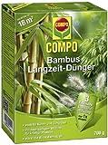 COMPO Bambus Langzeit-Dünger für alle Buchsbaumarten, Zier- und Kübelgräser, 3 Monate Langzeitwirkung, 700 g, 18m²