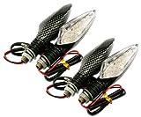 LED-Blinklichtbirne, 12 V, 16 LEDs, Birne Z51B, für Motorräder, 4 Stück