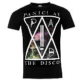 Panic At The Disco Offizielle Band T-Shirt Herren Black Music Top Tee T Shirt M