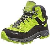 Salewa Unisex-Kinder JR ALP Trainer MID GTX Trekking-& Wanderstiefel, Grün (Cactus/Sulphur Spring 5320), 37 EU