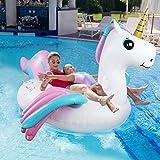 Tencoz Aufblasbare Pool Spielzeug, Riesiges Schwimmtiere Aufblasbar Floß für den Sommerstrand Wasser Aufblasbares Pool Schwimmreifen Pool Spielzeug Wasserspielzeug Party Kinder Erwachsene