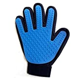 WJiXin Haustierpflege-Handschuh, [Erweiterte Version] Haustier-Pflege-Werkzeug + Pet Peeling Handschuh - Für Hunde und Katzen - Langes und kurzes Fell, effektive Abisolierzange - 1 Stück  ¨ Richtig size same (A)
