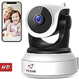 Victure 720P HD WLAN IP Kamera,Home Wifi Überwachungskamera mit Nachtsicht, Bewegungserkennung, Zwei-Wege Audio,Sicherheitskamera Indoor-Kamera für Haustier/Baby Monitor