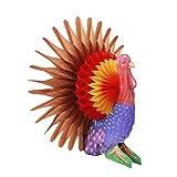 SUNBEAUTY Papier Truthahn Herbst Dekoration Erntedankfest Thanksgiving Decoration Partydeco