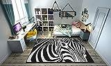 Fabelia Designer-Teppich Zebra's Life (160 x 230 cm)