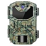 Victure Wildkamera 16MP 1080P Full HD No Glow Infrarot Nachtsicht Überwachungskamera mit Bewegungsmelder Nachtsicht und Upgrade IP66 Wasserdichtes Design für Jagd, Überwachung von Eigentum und Tieren