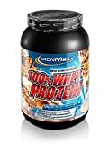 IronMaxx 100% Whey Protein – Proteinpulver auf Wasserbasis – Whey Eiweißpulver mit Nuss-Karamell Geschmack – 1 x 900 g Dose