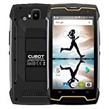 Cubot KingKong 2018 IP68 Outdoor Handy ohne Vertrag (IP68 Wasserdicht, Staubdicht, Stoßfest), 5.0 Zoll, 10-Punkt-Touch IPS innovativer Touchscreen, Android 7.0, MTK6580 1.3GHz Quad-Core, 2GB RAM 16GB ROM, 4400mAh, Dual Kamera, Dual SIM Dual Standby, GPS Smartphone (Schwarz)