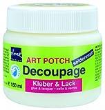 Kreul 48251 - Art Potch Decoupage Kleber und Lack seidenmatt, 150 ml
