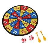 Senoow Sport Spielzeug Stoff Dartscheibe Set Kid Ball Ziel Spiel Für Kinder Sicherheit Spielzeug