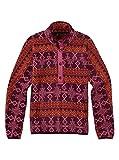 Burton Damen Anouk Fleece Anorak Pullover, Starling Mojave, S