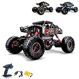Ferngesteuertes Auto RC Auto,2.4GHz Ferngesteuertes Monstertruck,High Speed RC-Auto mit  wiederaufladbaren Batterie