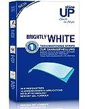 shineUP Bright White-Strips, 28 Bleaching-Stripes zur Zahnaufhellung in 14 Tagen, Zahnaufheller, Teeth Whitening strips
