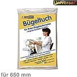 Bügel-Tuch 65cm f Bügelautomat Bügelwalze universal