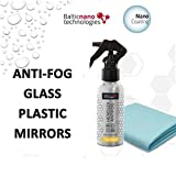 Nano Antibeschlag Spray Hendlex | Anti Beschlag Fürs Autoscheiben Windschutzscheibe Auto innen Brille Visier Schutz (100 ml)