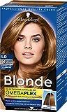 Schwarzkopf Blonde Aufheller LD für dunkles Haar Stufe 3, 3er Pack (3 x 142 ml)