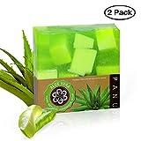 2x Panu Aloe Vera Seife Naturseife für die Körperpflege vegan tierversuchsfrei handgemacht (2x 110g)