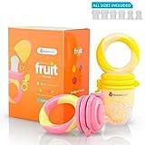 Baby Fruchtsauger / Schnuller–Beißnuckel zur Appetit-Förderung von NatureBond | verschiedene Größen, Silikon