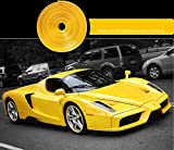 BMDHA Rimblades Legierung Rad Edge Ring Felge Protektoren Reifen Reifen Schutz Gummi Form- Mehrere Farben,Yellow