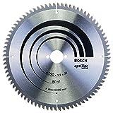 Bosch Professional Zubehör 2608640645 Kreissägeblatt Optiline Wood 250 x 30 x 3,2 mm, 80