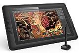 XP-PEN Artist15.6 IPS Zeichen-Display Pen Tablet 8192 Druck-Sensitivität batterielos Stift mit Grafikshandschuh Stifthalter Reinigungstuch Spitze