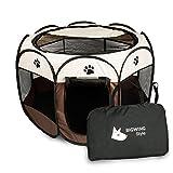 BIGWING Style Welpenlaufstall/Tierlaufstall/Hundehütte/Welpenauslauf/Laufstall für Hunde/Katzenhaus/Wasserdichtes Zelt für Kleintiere wie Hunde, Katzen