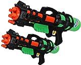 XXXL XL Wassergewehr Super Shooter Splash Boomber V2 im Doppelpack Papa - Sohn Edition
