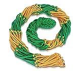 [Enorm robustes] Großes Ballnetz [Balltragenetz] [5 mm dick] passend für 10-15 Bälle der Größe 5 [besonders belastungsfähig mit Edelstahlring] in Premium Qualität von Novus Via