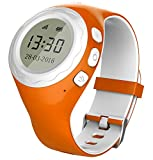 Pingonaut Kidswatch – Kinder GPS Telefon-Uhr, SOS Smartwatch mit Ortung, Tracker & Phone - Tracking App, Deutsche Software, Orange