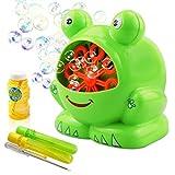 Seifenblasenmaschine,TedGem Bubble Machine für Kinder Indoor und Outdoor Bubble Maker Spiele, perfekt für Partys, Hochzeit, Wedding