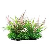 Hongzer Plastikgras, künstliche Plastikwassergras-Wasserpflanze der Simulation für Aquarium-Dekor(ZK0003)