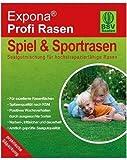 ERRO Profi Rasen 1kg Saatgut für 40 m² Rasenfläche, Samen für strapazierfähigen Spiel- & Sportrasen, Rasensaat, Rasensaatgut